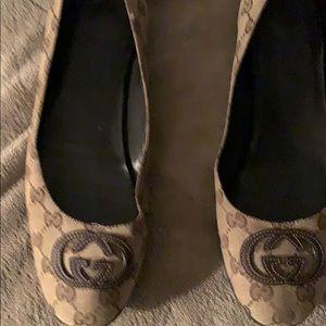 Gucci Ballerina Flats Size 41